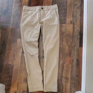 Aeropostle Slim Straight Khaki Pants